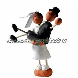Imagen Novios Tarta Divertidos Figura Pastel Novio a hombros (Bubinots)
