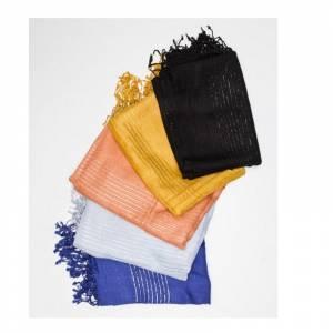 Imagen Pashminas Foular Hilo Brillante de Colores Surtidos (fular)
