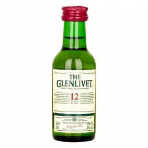 Whisky - Whisky Glenlivet 12 años MALTA 5cl